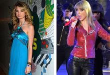 Taylor Swift le coiffe